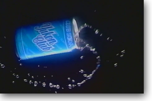 spinning soda can spray